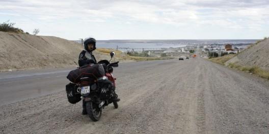 W tle Puerto Madryn