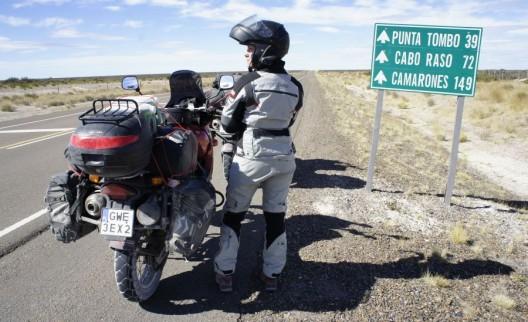 w drodze do Punta Tombo