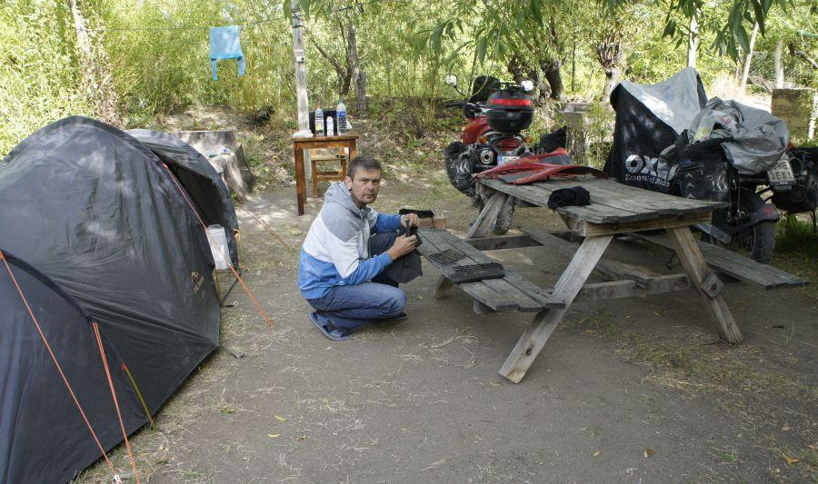 Camping w El Calafate