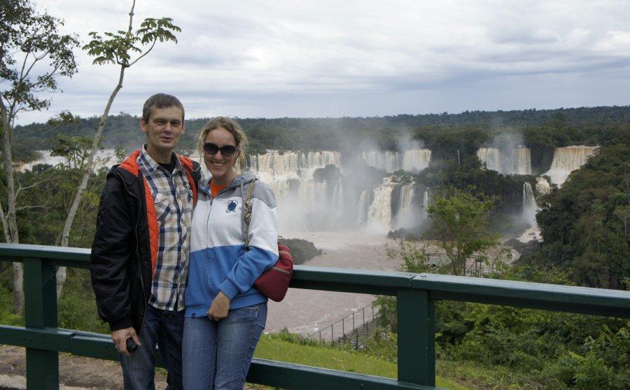 Iguazú po stronie brazylijskiej