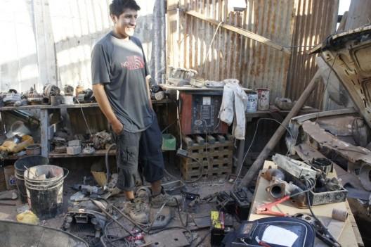 Mechanik w San Pedro de Atacama