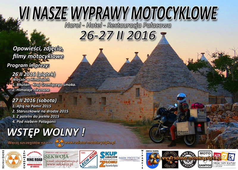VI Nasze Wyprawy Motocyklowe