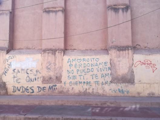 confesiones callejeros (uliczne wyznania)