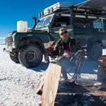 Mieszkanie dla dwojga, czyli zabudowa wyprawowa – Land Rover Defender