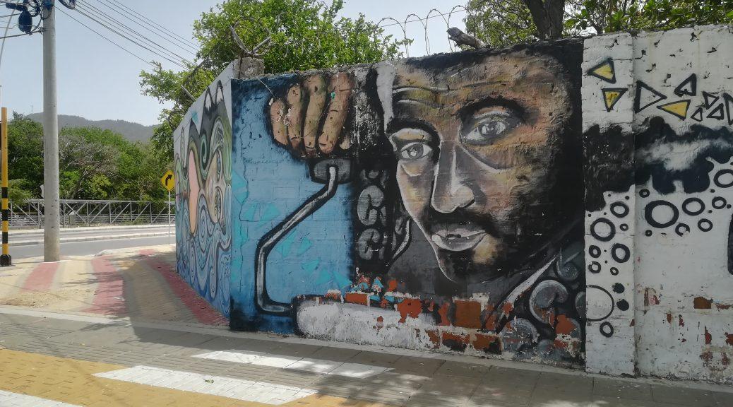Grafiti w Santa Marta
