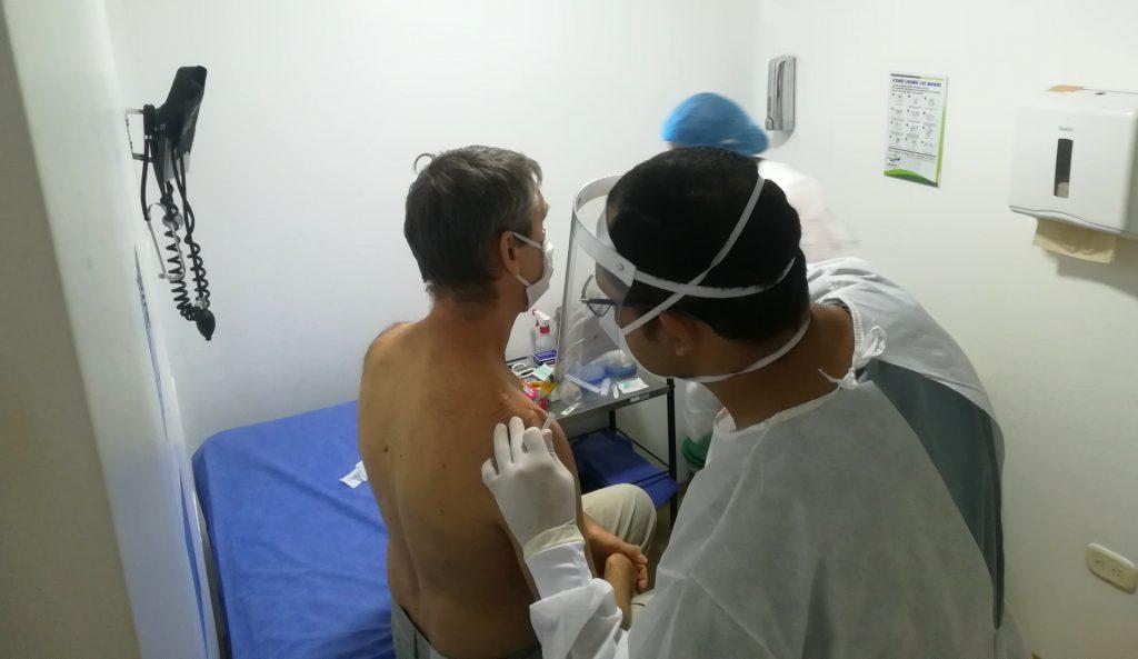 Zabieg w Kolumbii