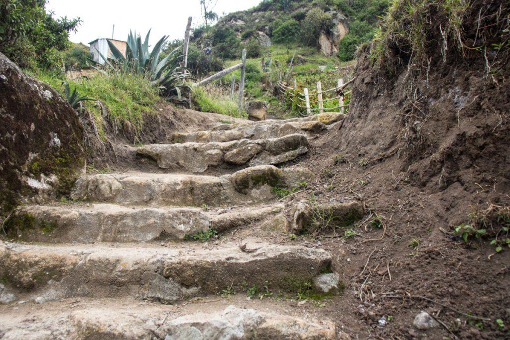 Ingapirka. świątynia inkaska w Ekwadorze